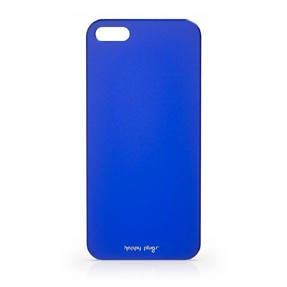 Чехол-накладка для Apple iPhone 5S/5 - Happy Plugs Ultra Thin синий