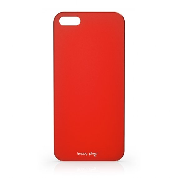 Чехол-накладка для Apple iPhone 5S/5 - Happy Plugs Ultra Thin красный