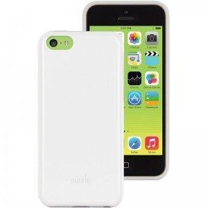 Пластиковый чехол Moshi iGlaze Remix белый для iPhone 5C