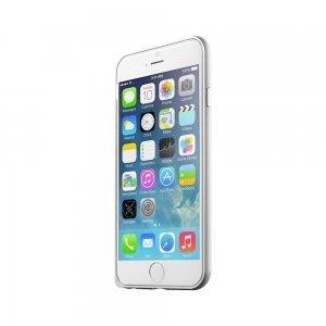 Чехол-бампер для Apple iPhone 6 - LEXAN Aluminum серебристый