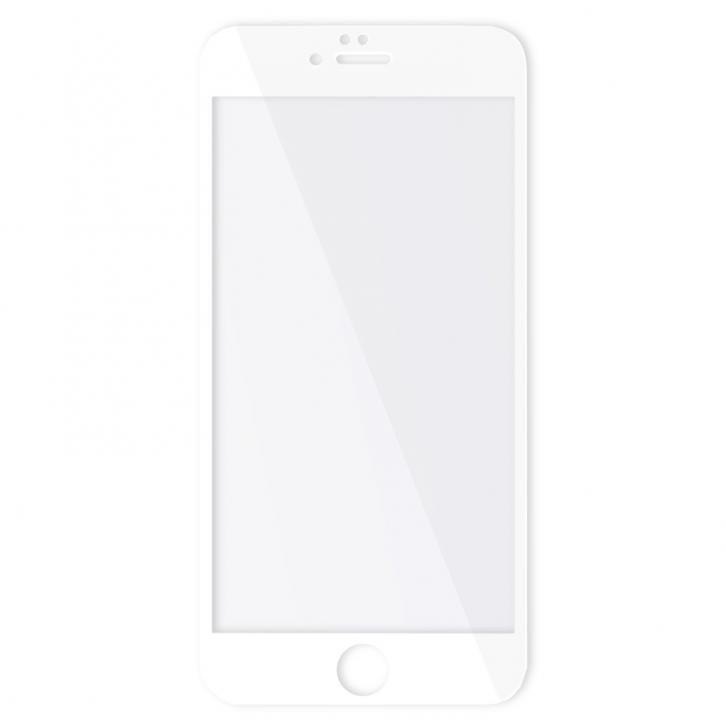 Защитное стекло Baseus Silk-screen Anti-Blue Light 0.2мм, глянцевое, белое для iPhone 6 Plus/6S Plus