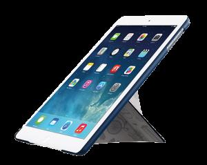 Чехол-книжка для Apple iPad Air/Air 2 - Ozaki O!coat Travel London синий