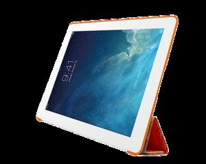 Чехол-книжка для Apple iPad Air/Air 2 - Ozaki O!coat Travel New York оранжевый