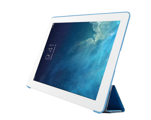 Чехол-книжка для Apple iPad Air/Air 2 - Ozaki O!coat Travel Sydney голубой
