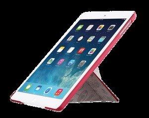 Чехол-книжка для Apple iPad mini 3/iPad mini 2/iPad mini - Ozaki O!coat Travel Tokyo розовый