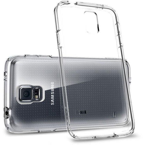 Чехол-накладка для Samsung Galaxy S5 - Spigen Ultra Fit Capsule прозрачный