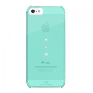 Чехол-накладка для Apple iPhone 5S/5 - White Diamonds Trinity голубой
