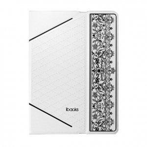 Чехол-книжка для Apple iPad mini 3 - iBacks Nameplating белый