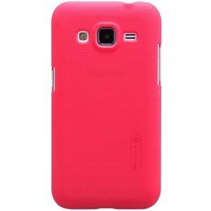Чехол-накладка для Samsung Galaxy Core Prime G360 - Nillkin Super Frosted Shield красный