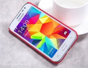 Чехол-накладка для Samsung Galaxy Core Prime G360 - Nillkin Super Frosted Shield красный