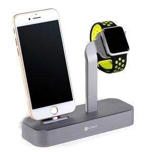 Док-станция COTEetCI Base5 темно-серая для iPhone, Apple Watch