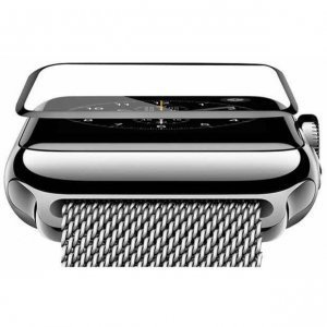 Защитное стекло COTEetCI 4D Black-Rim Full Viscosity для Apple Watch 3/2/1 42mm