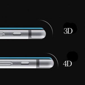 Защитное стекло COTEetCI 4D Full-Screen черное для iPhone X
