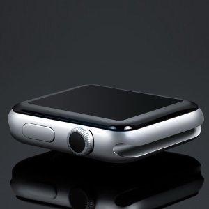Защитное стекло COTEetCI 4D 0.1мм для Apple watch 38мм (серия 2, 3)