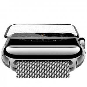 Защитное стекло COTEetCI 4D Black-Rim Full Viscosity для Apple Watch 3/2/1 38mm