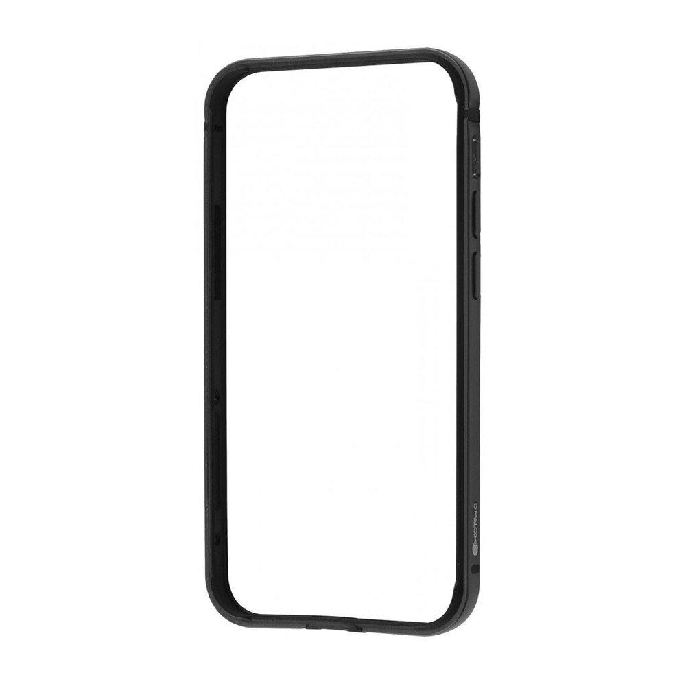 Бампер COTEetCI Aluminum черный iPhone 12/12 Pro
