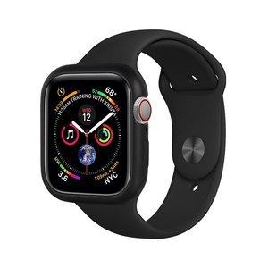 Магнитный чехол Coteetci чёрный для Apple Watch 4/5/6/SE 44mm