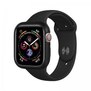 Магнитный чехол Coteetci черный для Apple Watch 4/5/6/SE 40mm