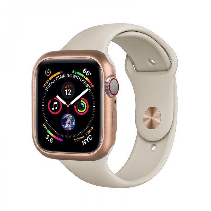 Магнитный чехол Coteetci золотой для Apple Watch 4/5 40mm