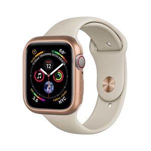 Магнитный чехол Coteetci золотой для Apple Watch 4/5/6/SE 44mm