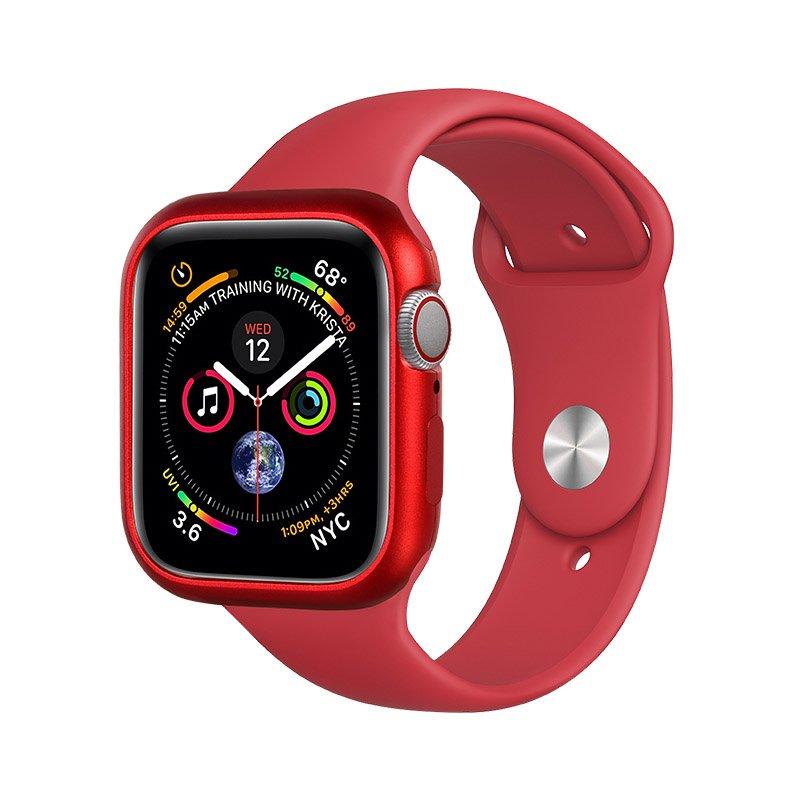 Магнитный чехол Coteetci красный для Apple Watch 4 44mm