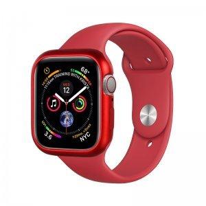 Магнитный чехол Coteetci красный для Apple Watch 4/5/6/SE 40mm