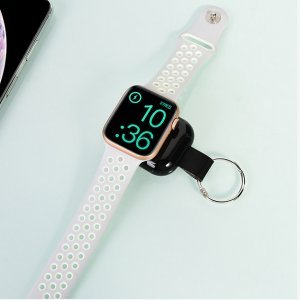Внешний аккумулятор COTEetCI Wireless Power Bank чёрный для Apple Watch 4/3/2/1