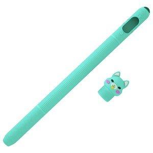 Чехол Coteetci (CS7073-QB-1A) голубой для Apple Pencil 1