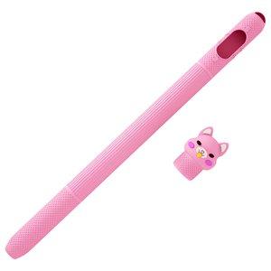Чехол Coteetci (CS7073-PK-1A) розовый для Apple Pencil 1