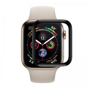 Защитное стекло Coteetci Full Glue Glass для Apple Watch 4/5 44mm