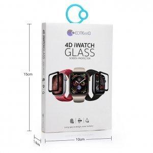 Защитное стекло Coteetci Full Glue Glass для Apple Watch 4/5 44mm