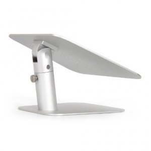 Подставка для ноутбука Coteetci Carryall Lifting Bracket Two Way серебристая