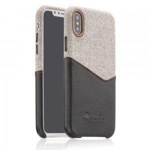 Чехол COTEetCI Max-Up черный для iPhone X/XS