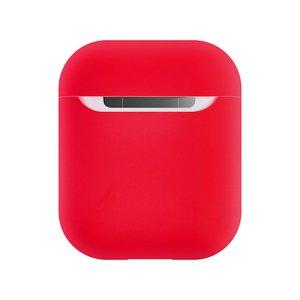 Силиконовый чехол Coteetci Liquid красный для Apple AirPods