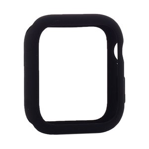 Силиконовый чехол Coteetci Liquid Case черный для Apple Watch 4/5 40mm