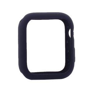 Силиконовый чехол Coteetci Liquid Case синий для Apple Watch 4/5/6/SE 44mm