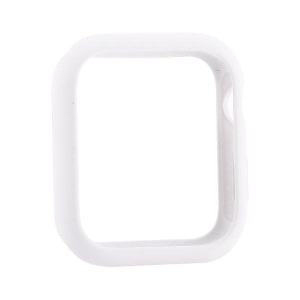Силиконовый чехол Coteetci Liquid Case белый для Apple Watch 4/5 40mm