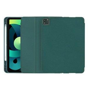 Чехол-книжка COTEetCI Liquid Silicone Pen Slot зелёный для iPad Air 4