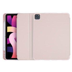 Чехол-книжка COTEetCI Liquid Silicone Pen Slot розовый для iPad Air 4
