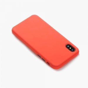 Чехол COTEetCI Mix Buttons Liquid красный для iPhone X/XS