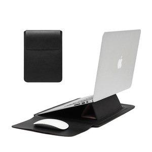 Чехол-карман COTEetCI Multifunction Leather Liner Bag черная для Macbook Pro/Air 13