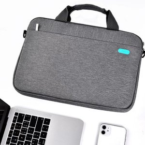 """Сумка Coteetci Business Shoulder Bag серая для ноутбуков диагональю 13"""""""