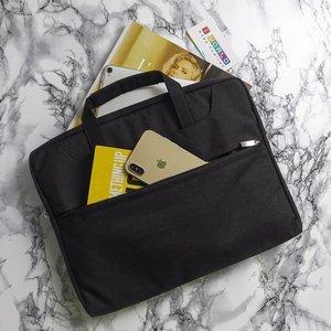 """Сумка Coteetci Shoulder Bag черная для ноутбуков диагональю 13"""""""