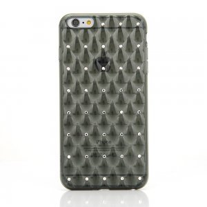 Чехол со стразами COTEetCI Shiny серый для iPhone 6/6S