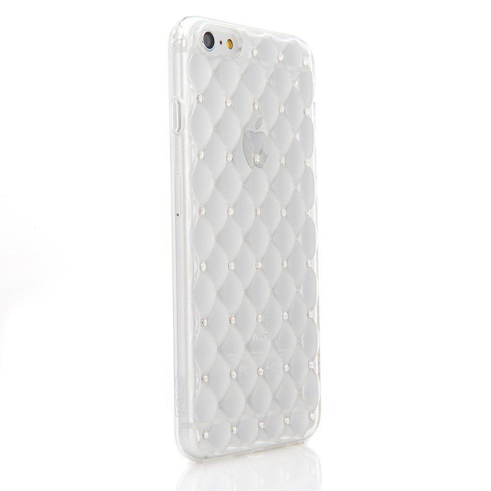 Чехол со стразами COTEetCI Shiny прозрачный для iPhone 6/6S