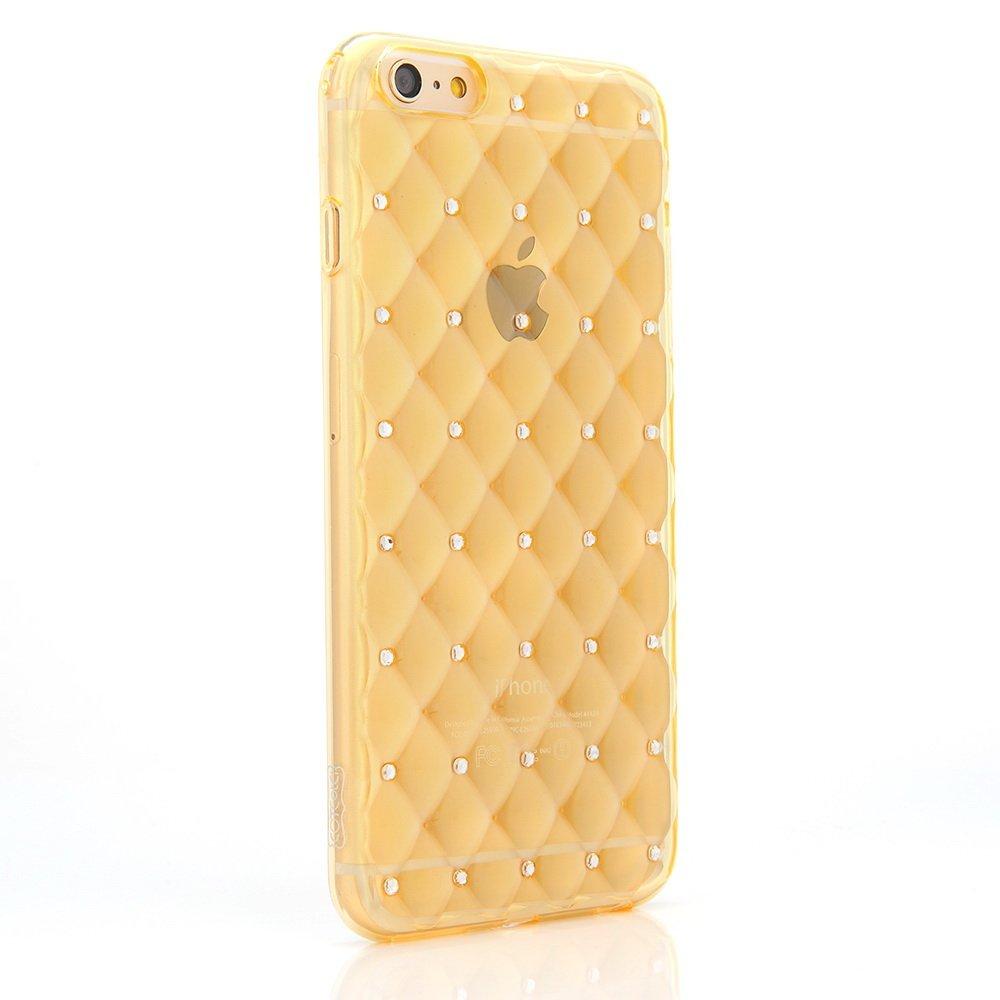 Чехол со стразами COTEetCI Shiny золотой для iPhone 6/6S