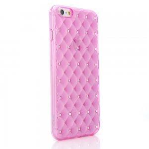 Чехол со стразами COTEetCI Shiny розовый для iPhone 6/6S