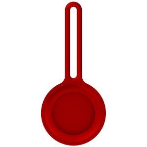 Силиконовый чехол COTEetCI Protective Sleeve красный для AirTag