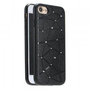 Чехол со стразами Coteetci Star черный для iPhone 7