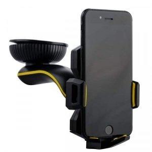 Автодержатель Coteetci ST-03 черный для смартфонов